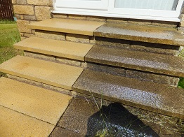 how to clean monoblock driveway